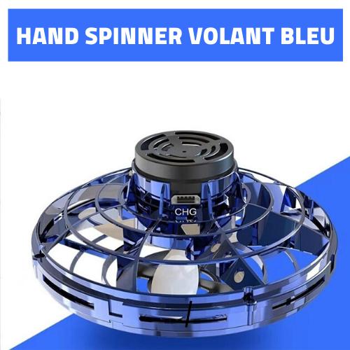 hand spinner volant bleu