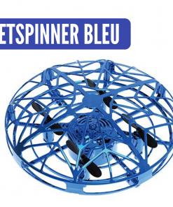 jetspinner mini drone ufo bleu