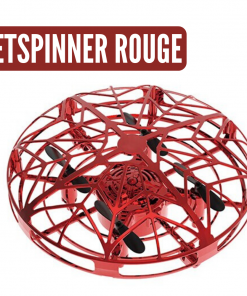 mini drone ufo rouge