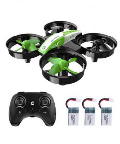 mini drone vert hélicoptere