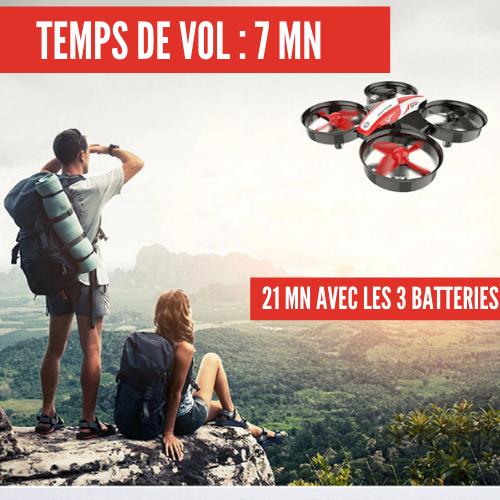 mini drone quadricoptère