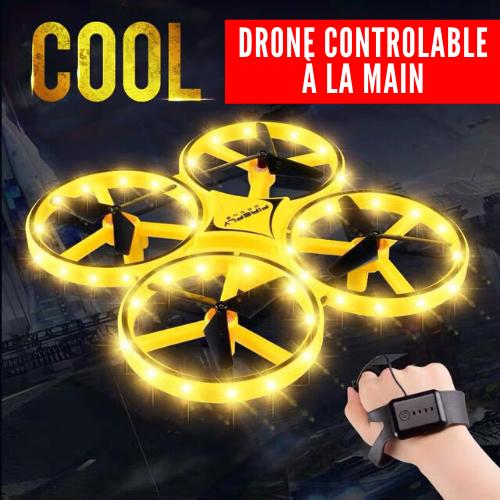 drone contrôlable par bracelet montre à la main