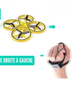 drone lumineux pilotable par la main